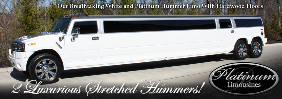 Our Breathtaking White Hummer With Hardwood Floors